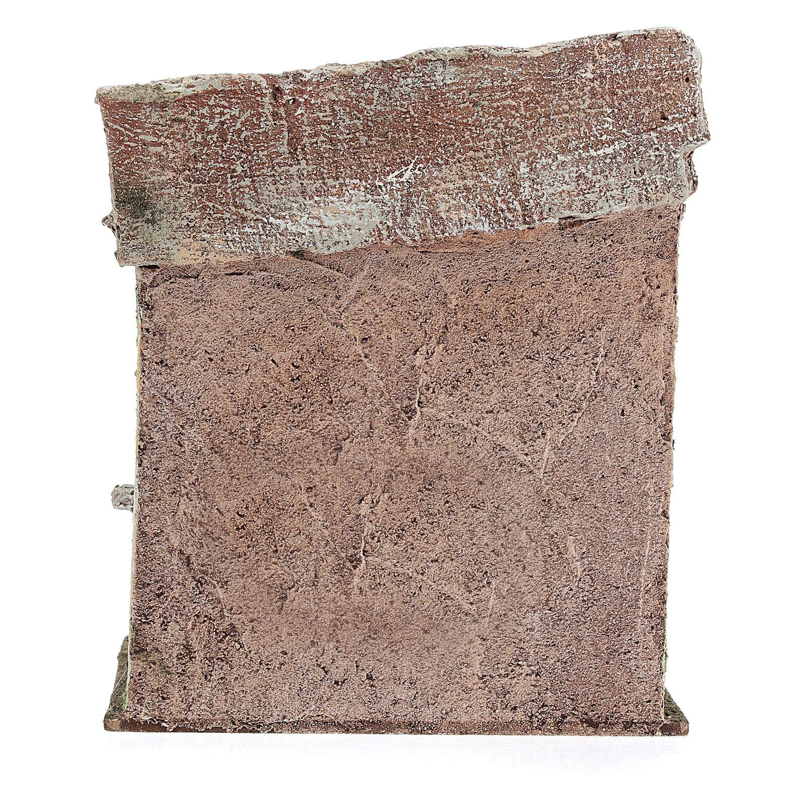 Ambientación mostrador olla pasta 20x20x15 cm belenes de 13 cm 4