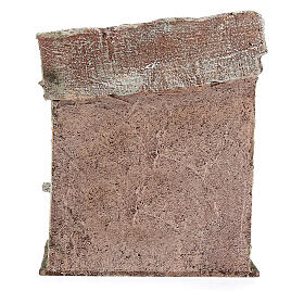Ambientación mostrador olla pasta 20x20x15 cm belenes de 13 cm s5