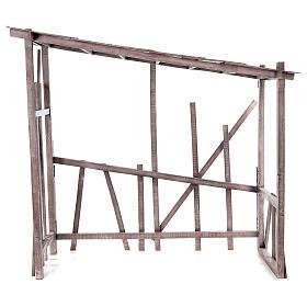 Cabaña madera desmontable 150x150x55 cm belén 120 cm s1