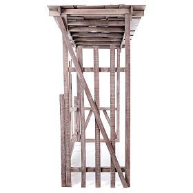 Cabaña madera desmontable 150x150x55 cm belén 120 cm s4