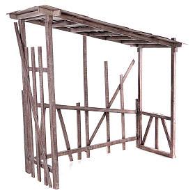 Cabaña madera desmontable 150x150x55 cm belén 120 cm s5