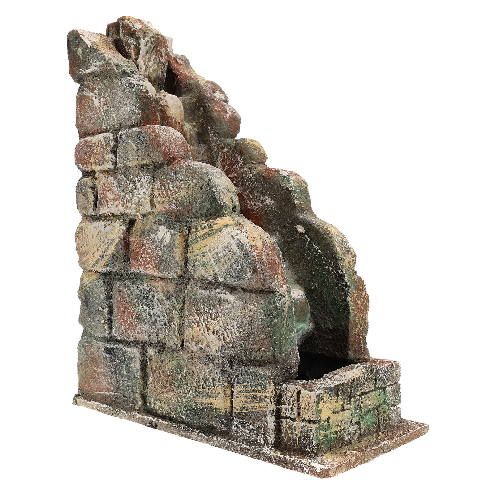Waterfall for Neapolitan Nativity scene with pump 4