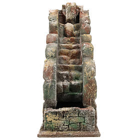 Waterfall for Neapolitan Nativity scene with pump s1
