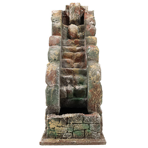 Waterfall for Neapolitan Nativity scene with pump 1