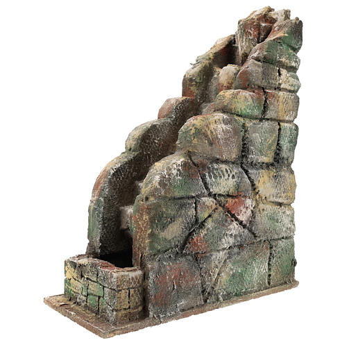 Waterfall for Neapolitan Nativity scene with pump 2