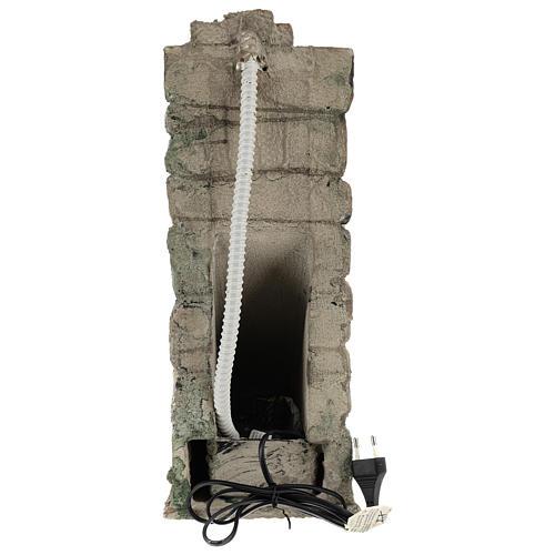 Cascata d'acqua con pompa per presepe napoletano 10-12-14 cm 4