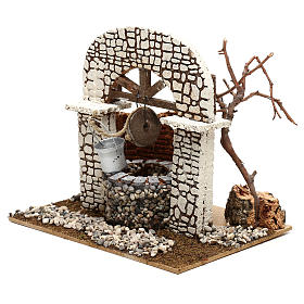 Well with bucket 15x20x20 cm for Nativity scene 8-10 cm s2