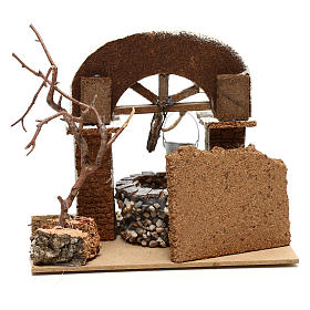 Well with bucket 15x20x20 cm for Nativity scene 8-10 cm s4
