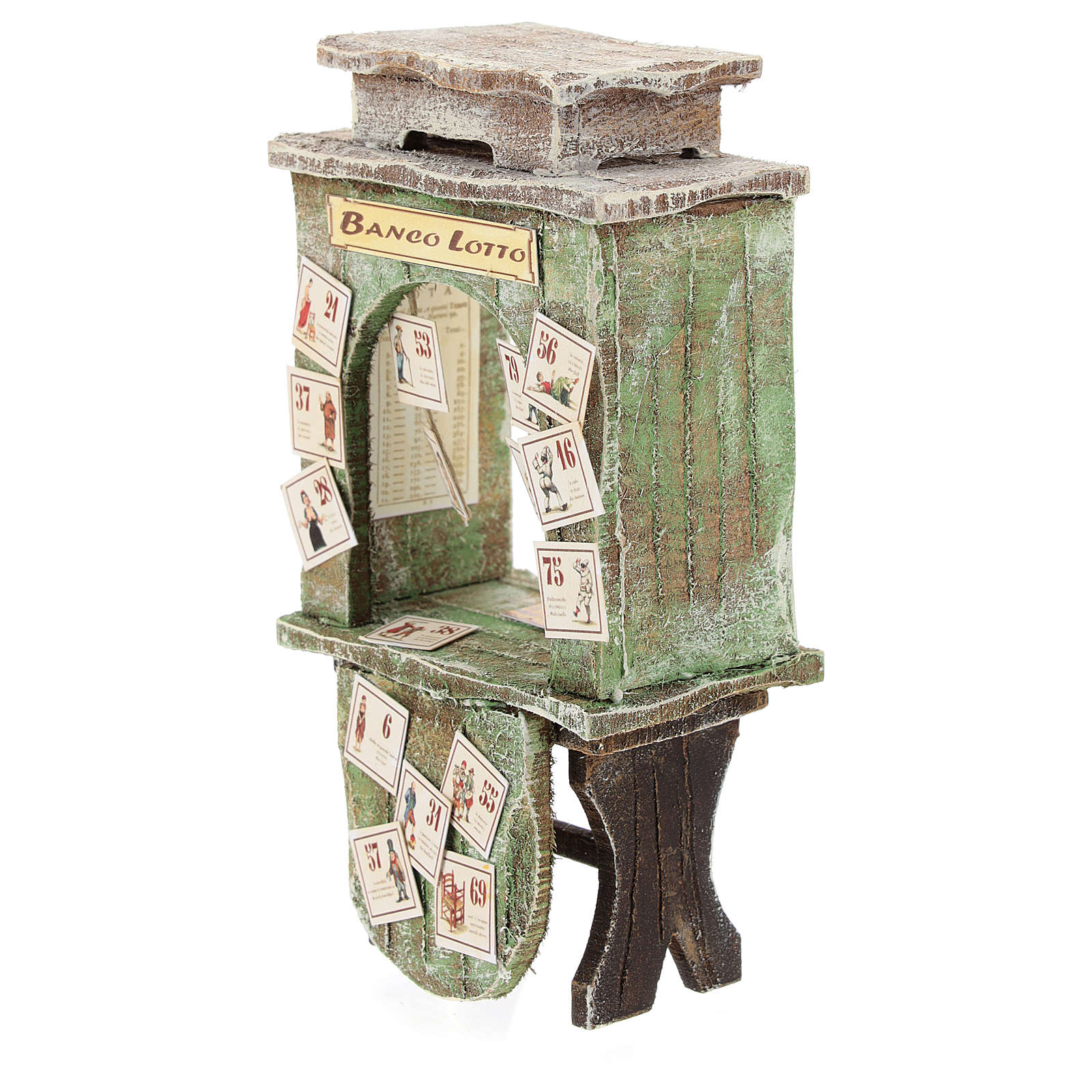 Lottery cabinet for 10 cm Nativity scene 4