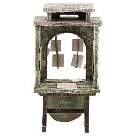 Kiosque du loto crèche 10 cm s4
