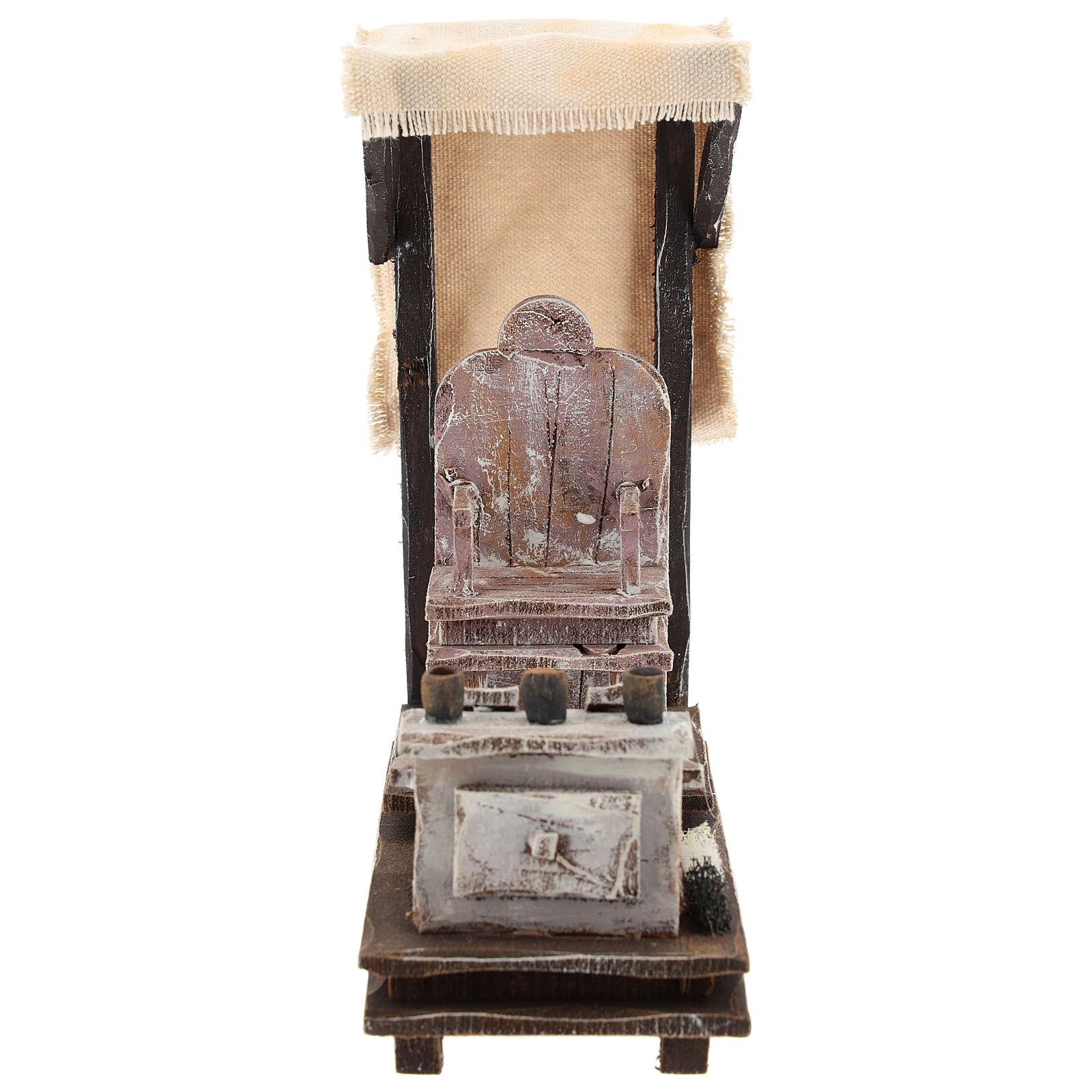 Shoeshine setting for 12 cm Nativity scene 4