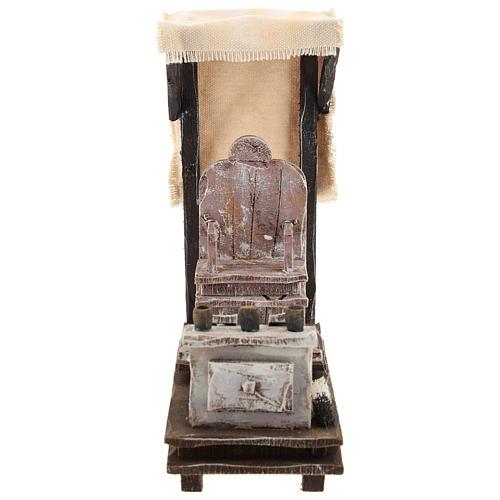 Shoeshine setting for 12 cm Nativity scene 1