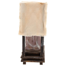 Scena lustrascarpe con attrezzi presepe 12 cm s4