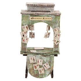 Lottery cabinet for 12 cm Nativity scene s1