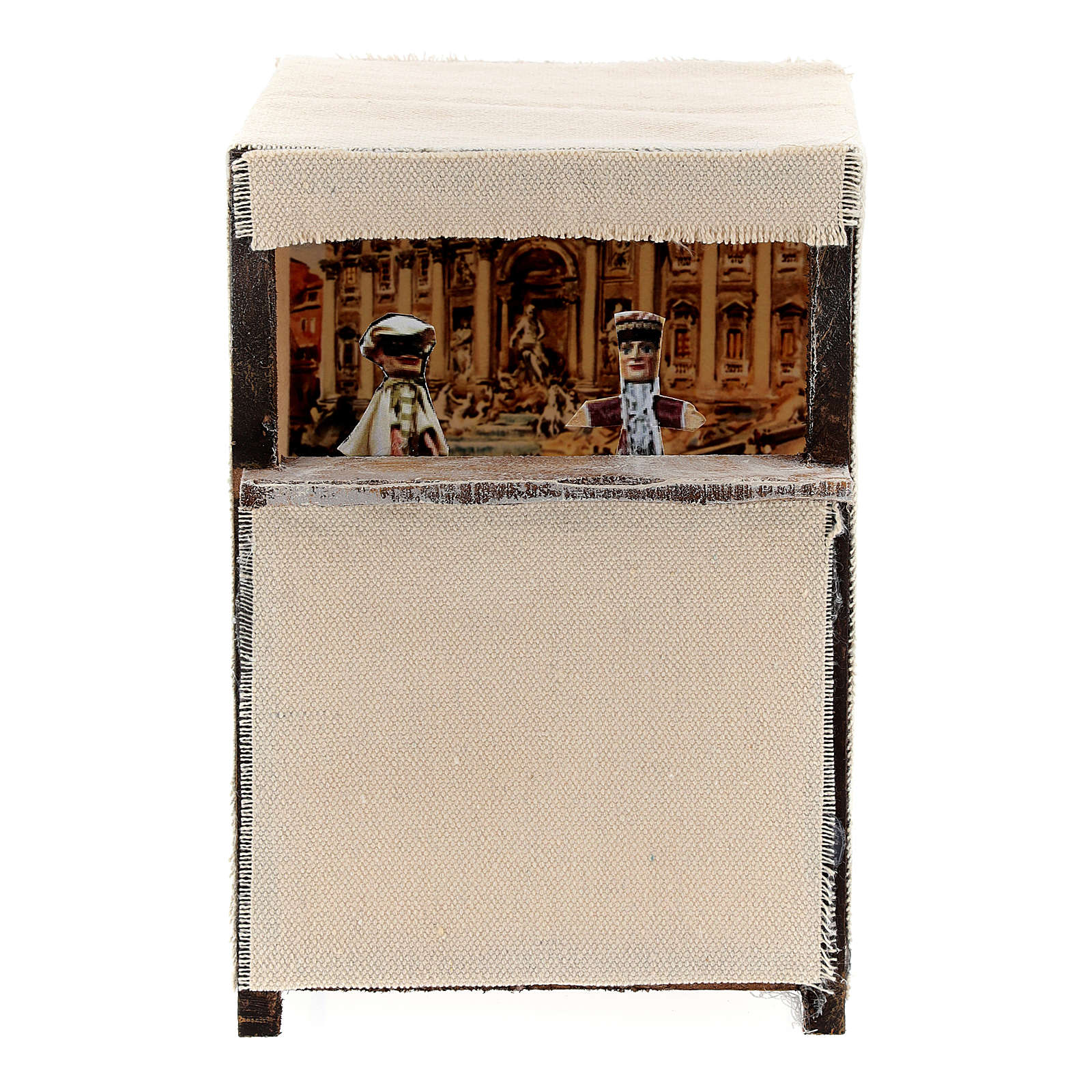 Puppet theatre for 12 cm Nativity scene 4