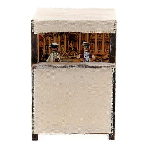 Puppet theatre for 12 cm Nativity scene 1