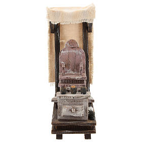 Shoeshine setting for 10 cm Nativity scene s1