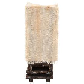 Ambientazione lustrascarpe con attrezzatura presepi 10 cm s4