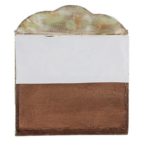 Teatro de madera con títeres belén 12 cm 4