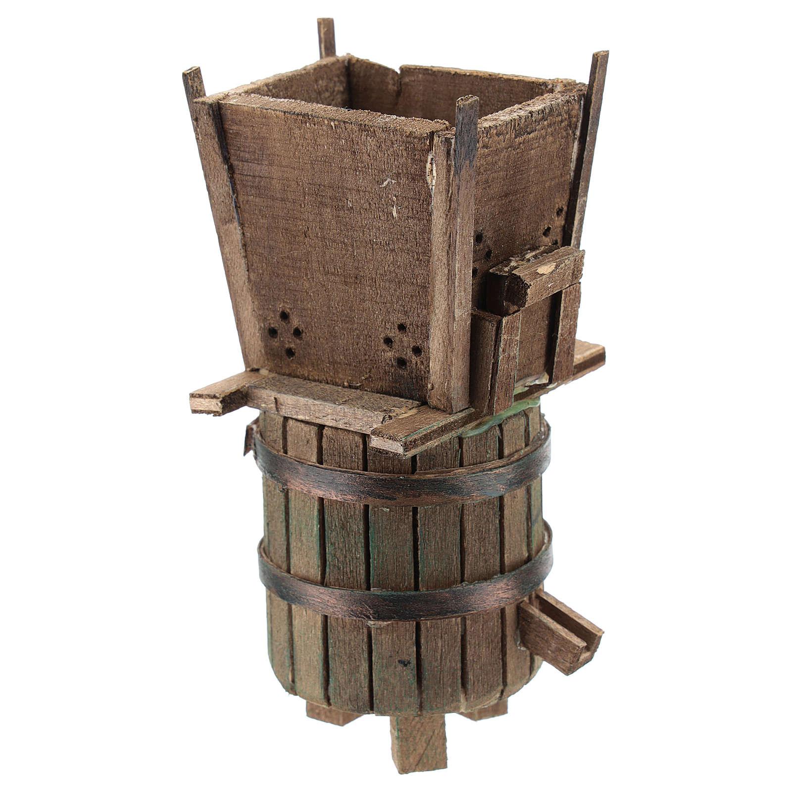 Winepress for 6-8 cm Neapolitan Nativity scene 4
