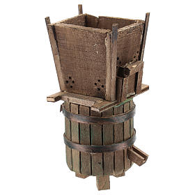 Winepress for 6-8 cm Neapolitan Nativity scene s3