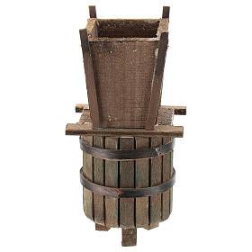 Winepress for 6-8 cm Neapolitan Nativity scene s4