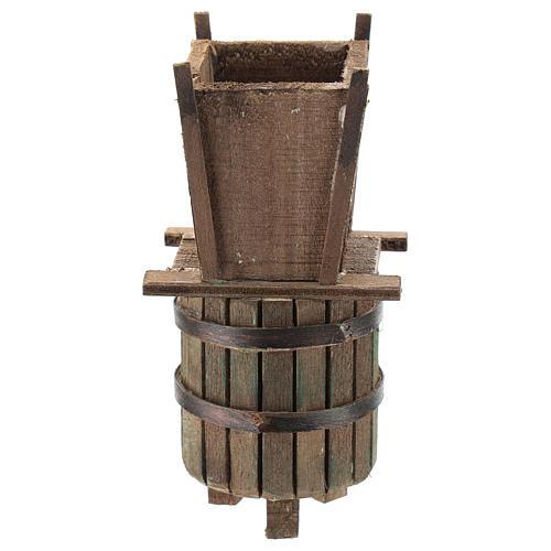 Prensa para vendimia para belén napolitano de 6-8 cm 4