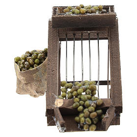 Olive drier for Neapolitan Nativity Scene of 6-8 cm s1