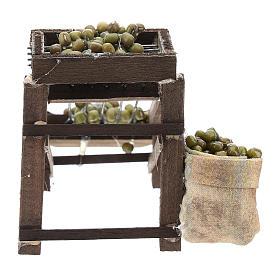 Colatore di olive per presepe napoletano di 6-8 cm s4