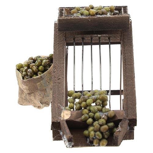 Colatore di olive per presepe napoletano di 6-8 cm 1