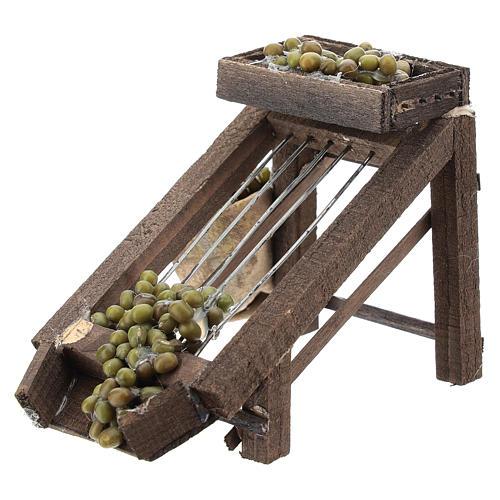 Colatore di olive per presepe napoletano di 6-8 cm 2