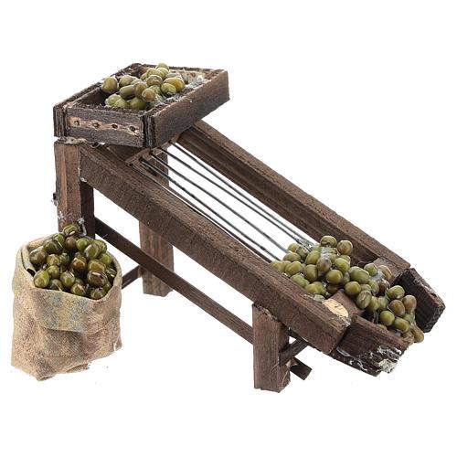 Colatore di olive per presepe napoletano di 6-8 cm 3