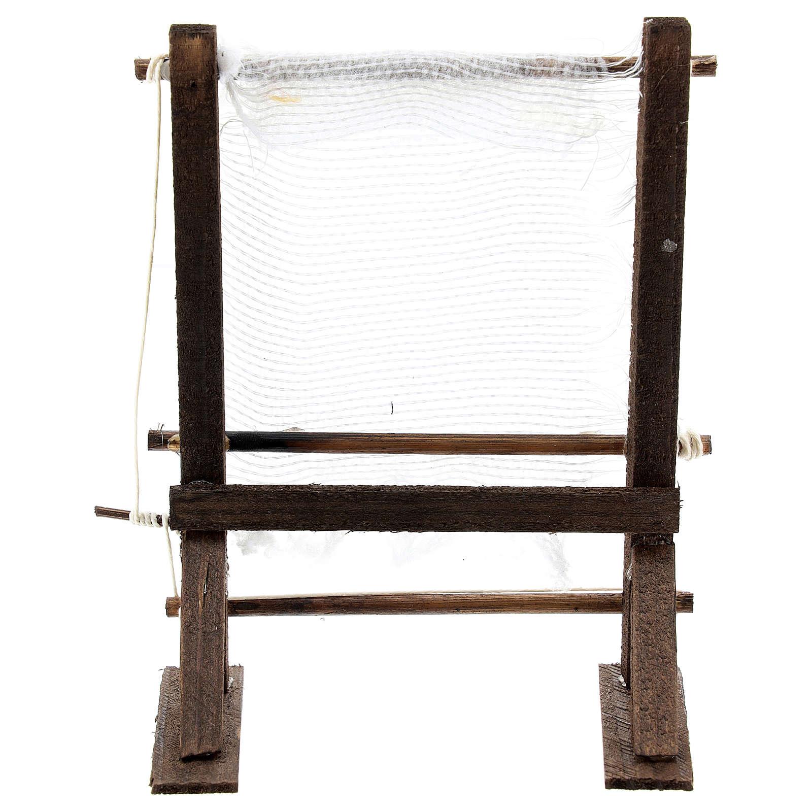 Telaio fila lana per presepe napoletano di 6-8 cm 4
