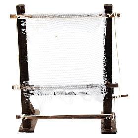 Telaio fila lana per presepe napoletano di 6-8 cm s1