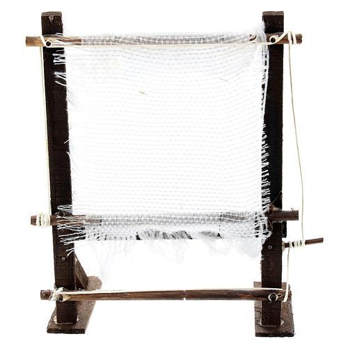 Telaio fila lana per presepe napoletano di 6-8 cm 1