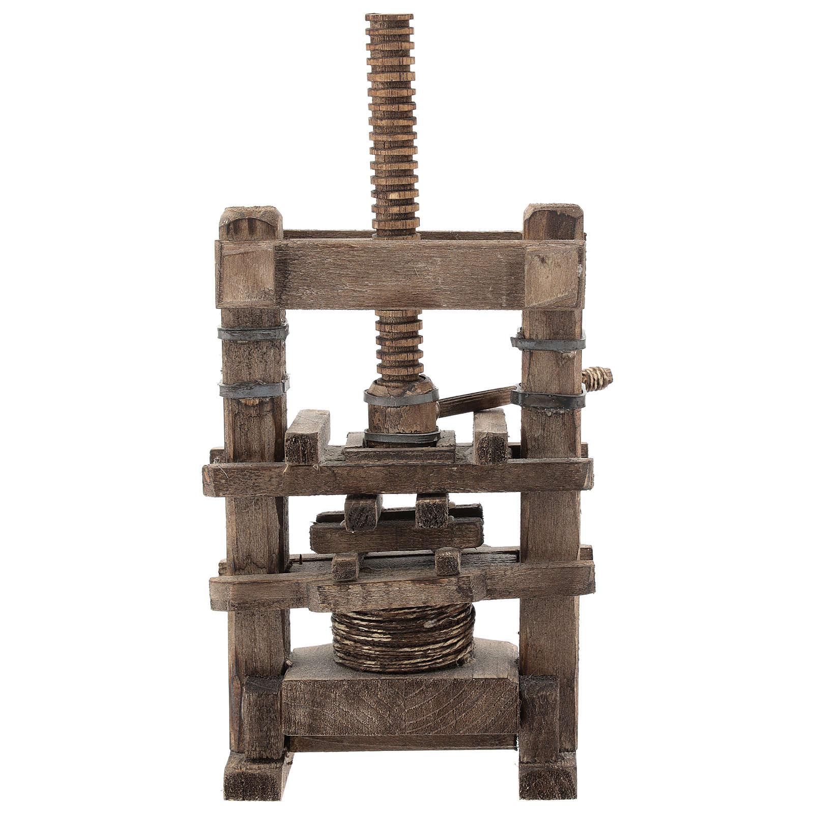 Garlic press for Neapolitan Nativity Scene of 6-8 cm 4