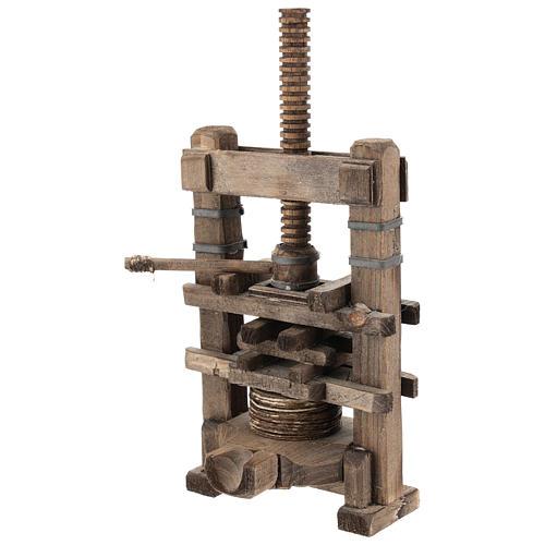 Garlic press for Neapolitan Nativity Scene of 6-8 cm 2