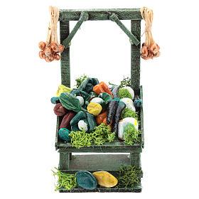 Titled vegetable stand for Neapolitan Nativity Scene of 6-8 cm s1