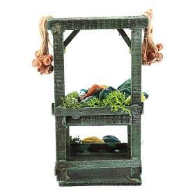 Titled vegetable stand for Neapolitan Nativity Scene of 6-8 cm s4