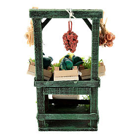 Titled vegetable stand with boxes for Neapolitan Nativity Scene of 6-8 cm s4