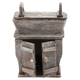 Cupboard with piece of furniture for Neapolitan Nativity Scene of 6-8 cm s1