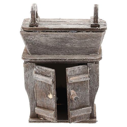 Cupboard with piece of furniture for Neapolitan Nativity Scene of 6-8 cm 1