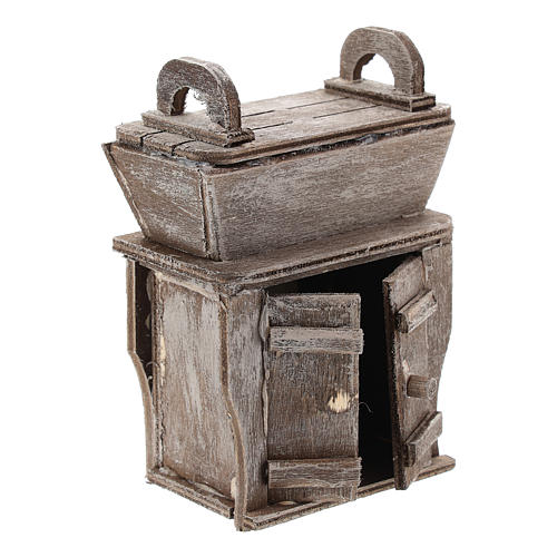 Cupboard with piece of furniture for Neapolitan Nativity Scene of 6-8 cm 3