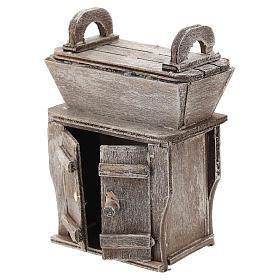 Aparador con mueble para belén napolitano de 6-8 cm s2