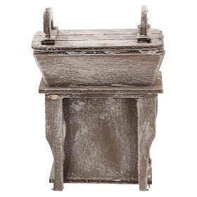 Aparador con mueble para belén napolitano de 6-8 cm s4