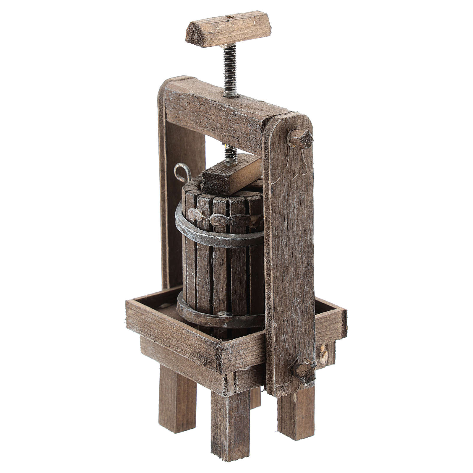 Cheese press for Neapolitan Nativity Scene of 6-8 cm 4