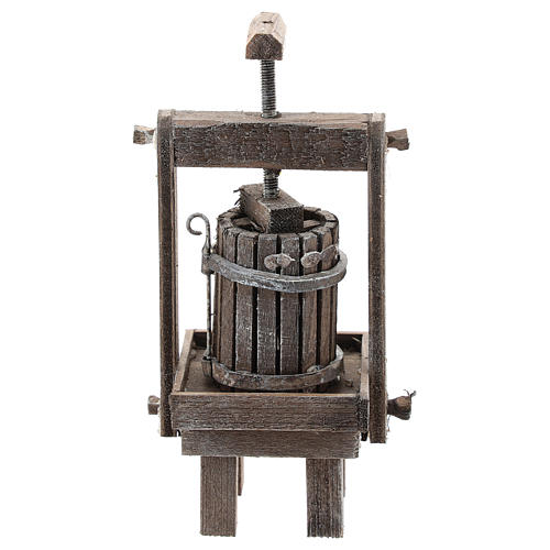 Cheese press for Neapolitan Nativity Scene of 6-8 cm 1