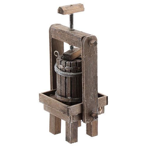 Cheese press for Neapolitan Nativity Scene of 6-8 cm 2