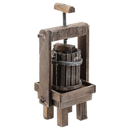 Cheese press for Neapolitan Nativity Scene of 6-8 cm 3