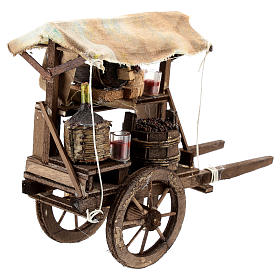 Wine maker cart for Neapolitan Nativity Scene of 6-8 cm s2